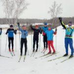 Массовый забег лыжников Любинского района
